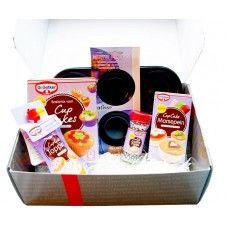 Kadobox Cupcakeset van Dr Oetker