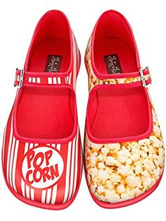 1789f5fcb7 Hot Chocolate Design Chocolaticas Popcorn Women's Mary Jane Flat  Multicoloured US Size: 7 ❤ .