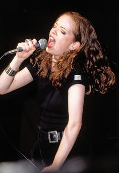 Shirley Manson when she sang for 'Angelfish' before she moved on to front 'Garbage'. Shirley Manson, Stupid Girl, Alternative Rock Bands, Rock And Roll Bands, Music Pictures, Angel Fish, Music Photo, Female Singers, Great Bands