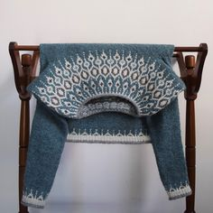 Ravelry: Project Gallery for Telja pattern by Jennifer Steingass Fair Isle Knitting Patterns, Fair Isle Pattern, Knit Patterns, Stitch Patterns, Textiles, Icelandic Sweaters, I Cord, Knit In The Round, Knitting Projects