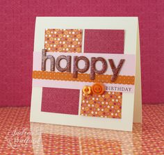stampin up card ideas | Birthday Card featuring the Sweet & Sour Specialty DP :: Andrea ...