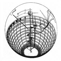 ANDREAS WEININGER: KUGELTHEATER / SPHERICAL THEATER, 1924