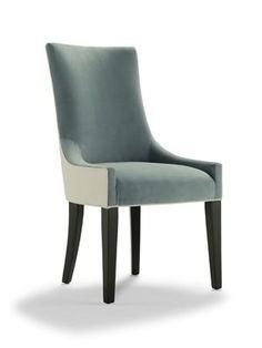 ADA LEATHER SIDE CHAIR New York interior designer Jared Sherman Epps jaredshermanepps.com