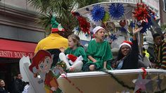 When: December 6, 2015 @ 2:00 pm   Where: King St, Charleston, SC 29401, USA   City of Charleston Holiday Parade – The parade begins at 2 p.m. at Broad and Barre streets, ending with Santa's at Marion Square on the corner of Calhoun and King streets. charlestonarts.org | 843-724-7305