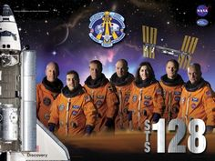 STS-128 Crew poster