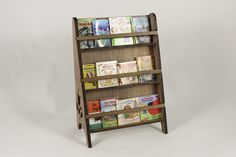 Bookcase with Kids' Books from Dollhouse Alley