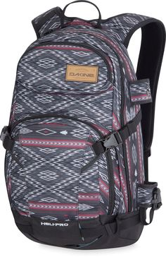 Sweet pack for all your adventures. DAKINE Heli-Pro 20L Snow Pack.