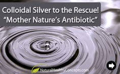 Colloidal Silver - it can protect you from infection in a variety of ways: Topically, used to fight fungal infections of the skin or nails and to promote the healing of burns, wounds, cuts, rashes, and sunburn... on toothaches and mouth sores, as eye drops, as a gargle to fight tooth decay & bad breath;... as sterilizer, can be sprayed on air-conditioning filters & air ducts/ vents (www.naturalnews.com).