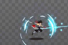 #атака #эффект Spine Animation Taru   2015