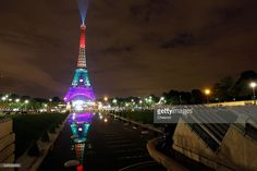 The Eiffel Tower is lit up in the colors of the rainbow flag to pay a tribute for victims of a shooting inside a gay nightclub, Pulse Club in Orlando, Florida on June 13, 2016 in Paris, France. 49 people were killed and at least as many injured during a Latin music event at the Pulse club in the deadliest mass shooting in the United States. The American-born gunman Omar Mateen, who had recently pledged allegiance to ISIS, died after killing 49 people early morning on June 12. The massacre…