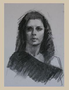 2 hour charcoal portraits by Louis Smith   Paint a portrait