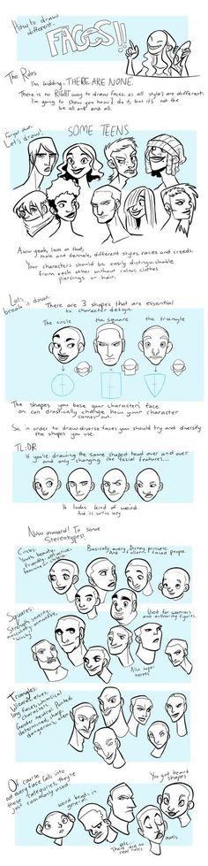 How to: Faces by KRIIZILLA: