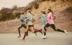 Mo Farah and Nike Oregon Project troops.