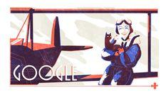 September 2016 Jean Batten's birthday Google Doodles, Today In History, Women In History, Birthday Dates, Photo Chat, Mid Autumn Festival, Festival 2017, Batten, African Safari