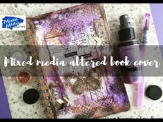 Mixed Media Blog: Altered book cover...Check out my latest blog usin...