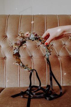 Handmade with love in Vienna. Flower Crown, Headpiece, Berry, Sparkle, Wreaths, Seasons, Autumn, Winter, Hair