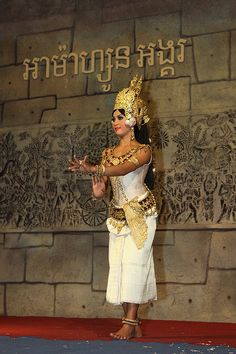 cambodia    Khmer Dance.    Classical Dance of Cambodia.