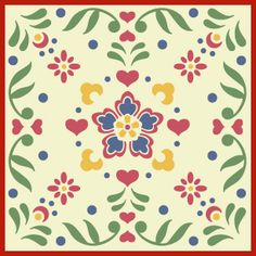 Rosemaling, kurbit stencils from Norway and Sweden. Archway ideas