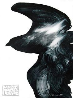 Gorgeous Bird Paintings by Adam S. Doyle painting birds