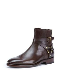 Frye - Brown Men s Weston Leather Harness Boot for Men - Lyst c0aecdbe1