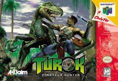 Turok: Dinosaur Hunter N64 by Iguana Entertainment
