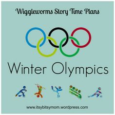 Story Time Plans for Preschoolers - Winter Olympics - itsybitsymom