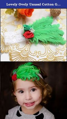 Lovely Ovely Unusal Cotton Girls Baby Red Green Rose Green Feather Hairband Headband. Brand New, With Tags Beautiful Feather Roses Glitter Diamond Glitter Lace Headband for Girls, Ladies and Women. These headbands are absolutely stunning! A different and unusual accessory which will make your little girls stand out from the crowd! Note, to be sure you get the one you want, make sure you look at the product shots. The modeled shots give a very good idea of the band but there may be some…