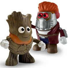 PPW Toys Free Shipping! Groot Mr.Potato Head Guardians of the Galaxy