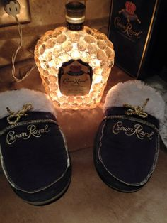 Night Light & Slippers made for me by Donna Geers
