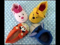Video aula 3 sapatinhos cutes