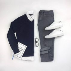 Casual Fashion For Black Males; Fashion Wear Name Ideas both Casual Fashion Black Male; Clothes Fashion Rental than Casual Fashion Shoes In Kenya Best Business Casual Outfits, Smart Casual Outfit, Smart Casual Man, Smart Casual Menswear, Minimal Outfit, Outfit Grid, Mode Instagram, Mode Statements, Herren Outfit