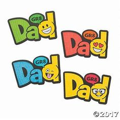 Images Mother's Day Emoji, Oriental Trading, Fathers Day, Magnets, Have Fun, Crafts For Kids, Bee, Dads, Texting