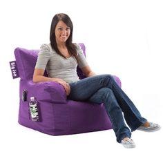 Dorm Bean Bag Chair, PURPLE  TEEN / ADULT $49.99