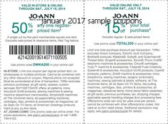 32 coupon sites for shopping deals bargains best of jo ann fabric coupon jo ann fabric promo code from the coupons app off a single item at jo ann fabric or online via promo code december fandeluxe Images