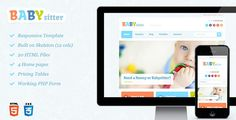 Babysitter - Responsive HTML Template (Miscellaneous)