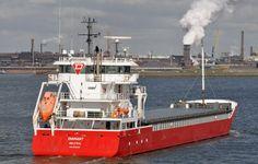 30 maart 2016 te IJmuiden onderweg naar de Middensluis  met latere bestemming Coenhaven   http://koopvaardij.blogspot.nl/2016/03/bestemming-amsterdam_31.html