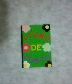 Livro de Ata em E.v.a. Decoração Simples Com seu material 5.00 R$ cada. Com meu material 8.00 R$ cada