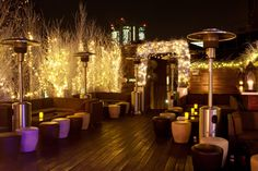 Golden Bee, Shoreditch. Recommended as one of best rooftop spots!