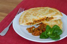 """Auf dieses tunesische Gericht bin ich durch die wunderbare """"Ich packe auf mein veganes Tellerchen""""-Facebookgruppe gestoßen. Ich habe das Original noch nie probiert, aber die vegane Variante schmec…"""