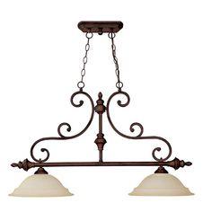 Capital Lighting Chandler Collection 2-light Burnished Bronze Island Light Fixture