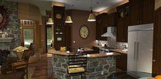 House Plan 65862   Cottage Craftsman Tuscan Plan with 2091 Sq. Ft., 3 Bedrooms, 3 Bathrooms, 2 Car Garage