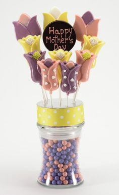 Mother's Day Chocolate Lollipop Bouquet by Simply Sweet Arrangements