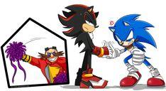 Sonic vs Shadow [Epic Battle] by Ami-Dark on DeviantArt