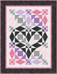 (7) Name: 'Quilting : Our Hearts Will Go On - Storm at Sea Var
