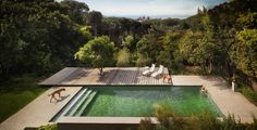 contemporist - modern architecture - rees roberts + partners llc - exterior view - swimming pool