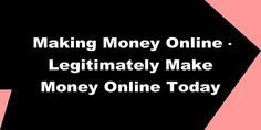 The Basic Process Of Earning Money Online Today  Did you know that just about everyone can be successful at earning an income online whether it be a part time or full time income. With way over 3 billion internet users whichever way that you decide to go there are many others interested in the...