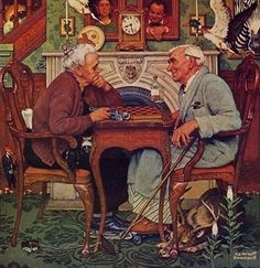 Norman Rockwell, covers for the Saturday Evening Post