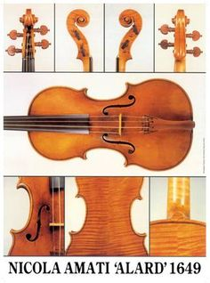 The Strad Library - 'Alard' Amati violin, 1649 Poster