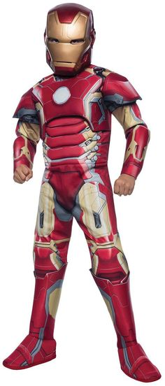 PartyBell.com - #Avengers 2 Deluxe Iron Man Mark 43 #ChildCostume