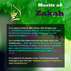 #Zakah Zakah: Its Ruling and Conditions